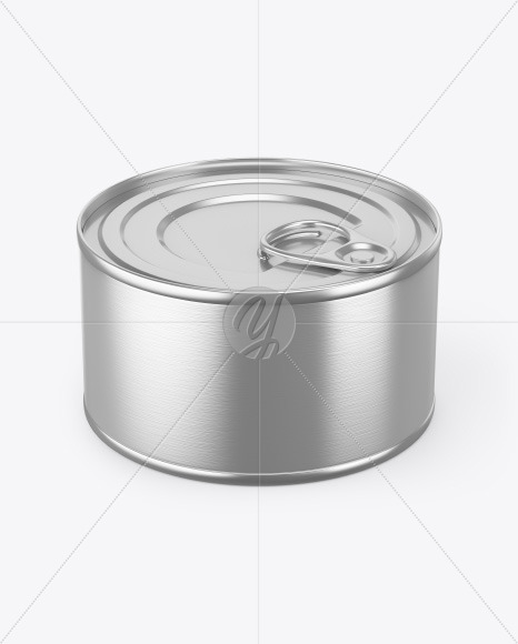 Download Tin Can With Pull Tab Mockup Free Mockups