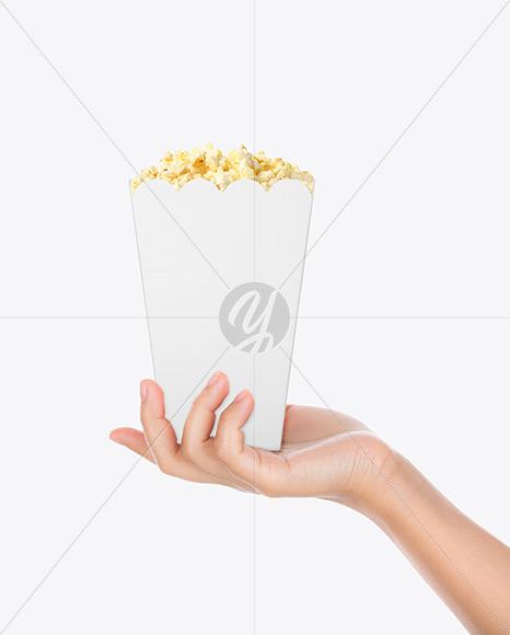 Popcorn Bag Mockup