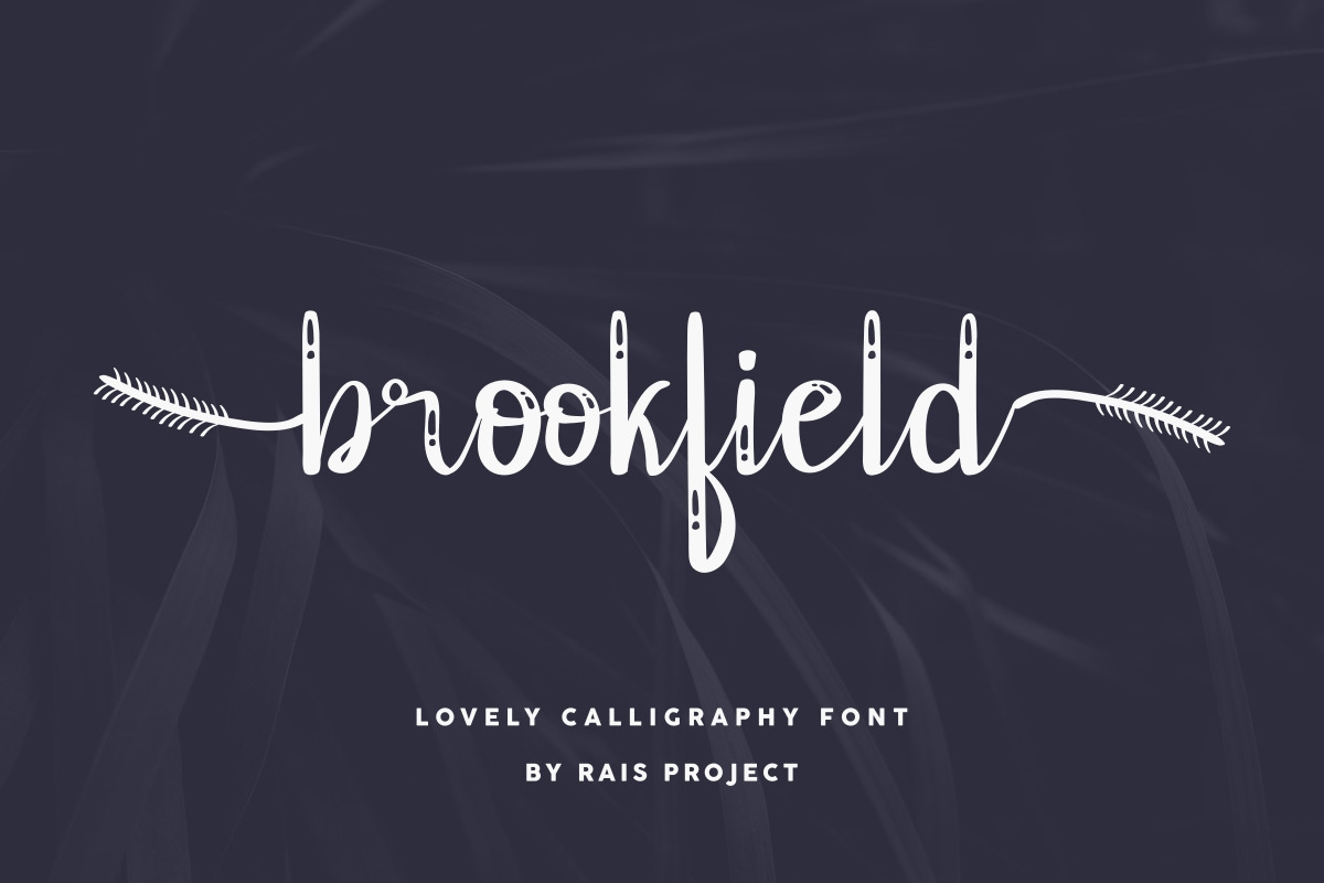 Brookfield Calligraphy Font