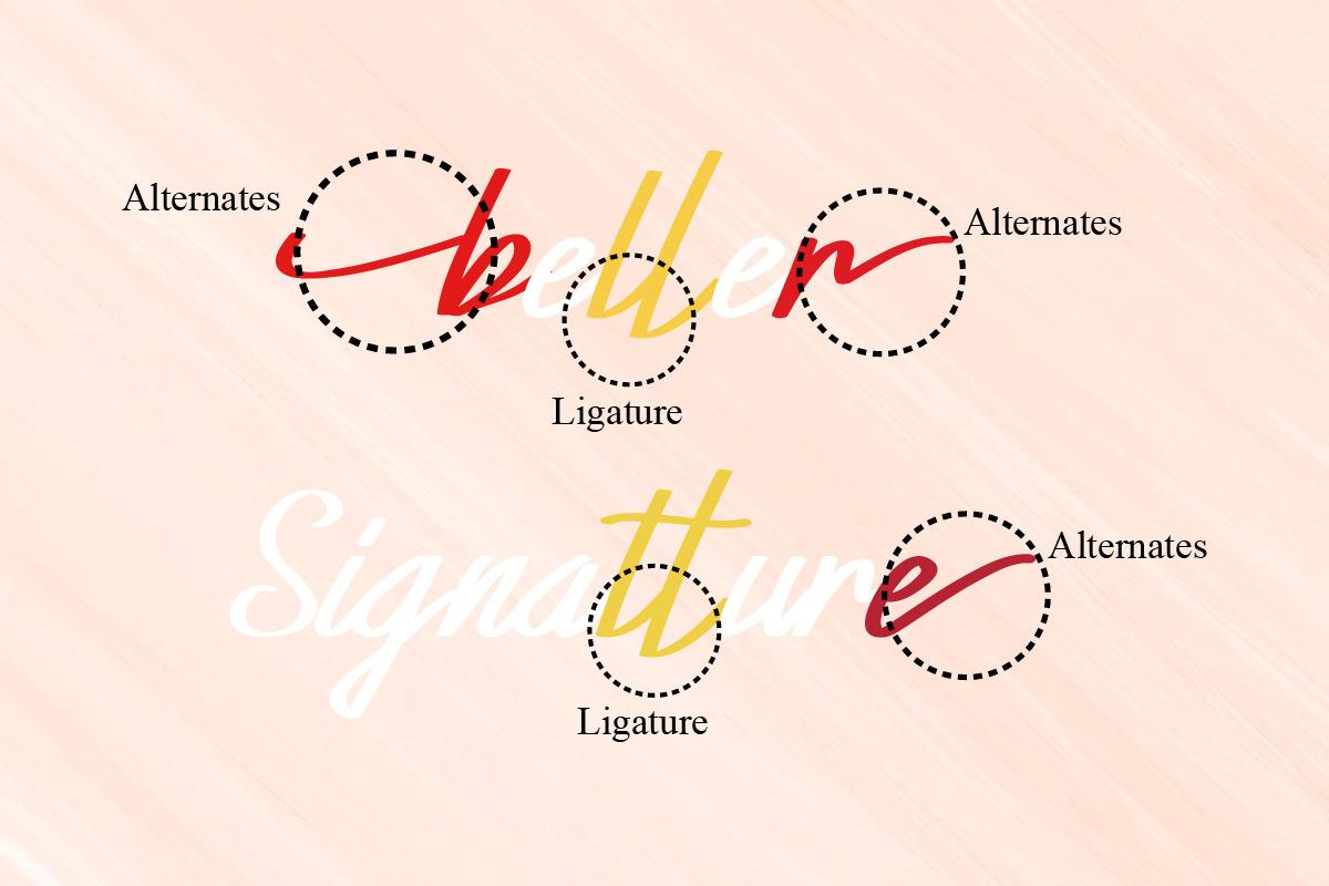 Xabiya Signature Font