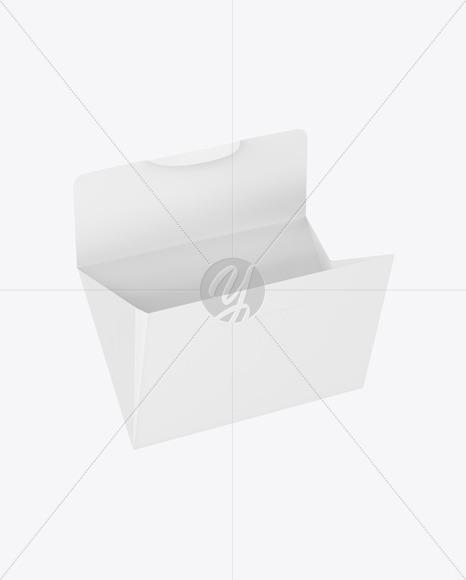 Opened Paper Envelope Mockup