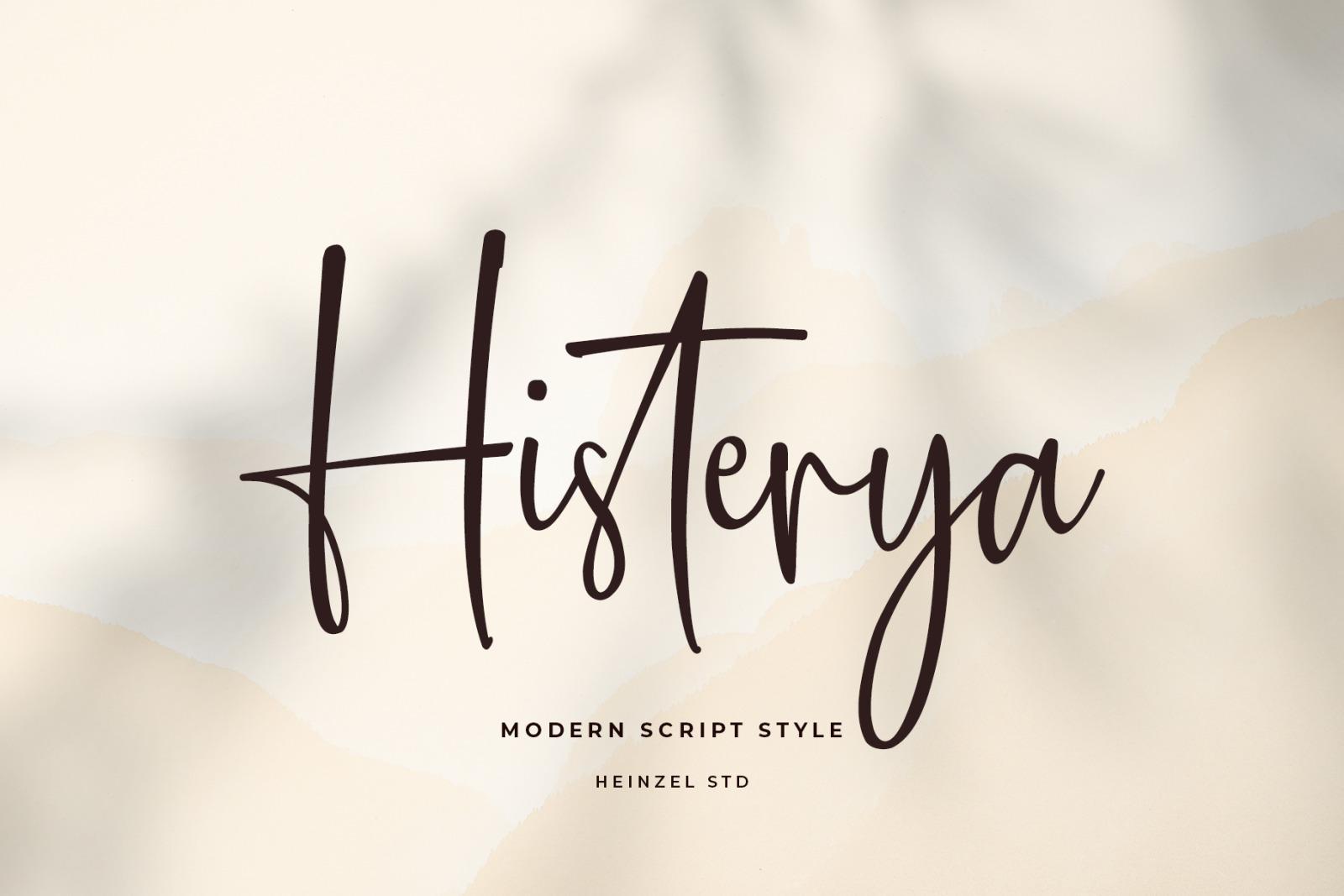 Histerya Font