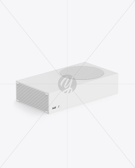 XBOX Series S Mockup
