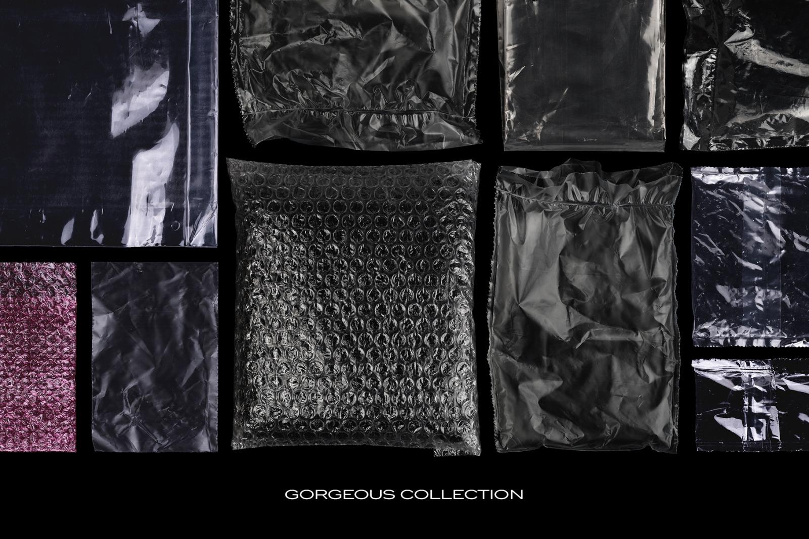 Plastic Bags Texture Branding Bundle