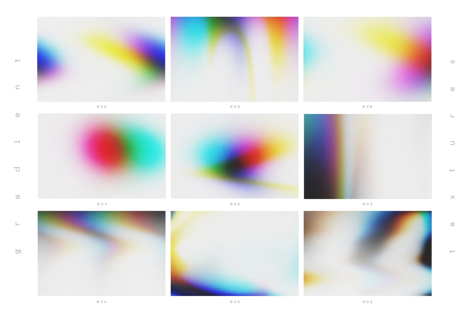90 Gradient Backgrounds