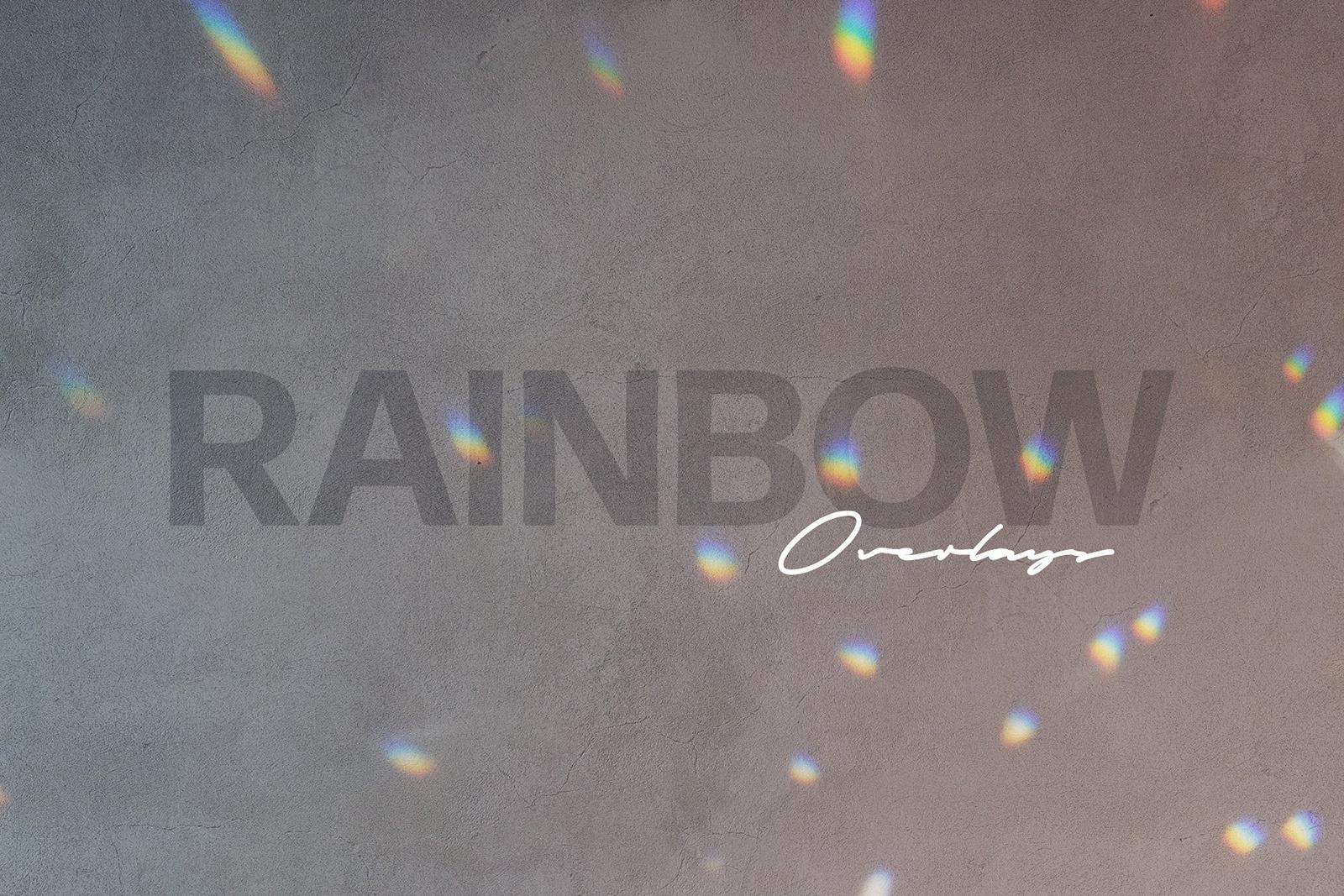Spectrum Rainbow Photo Overlays