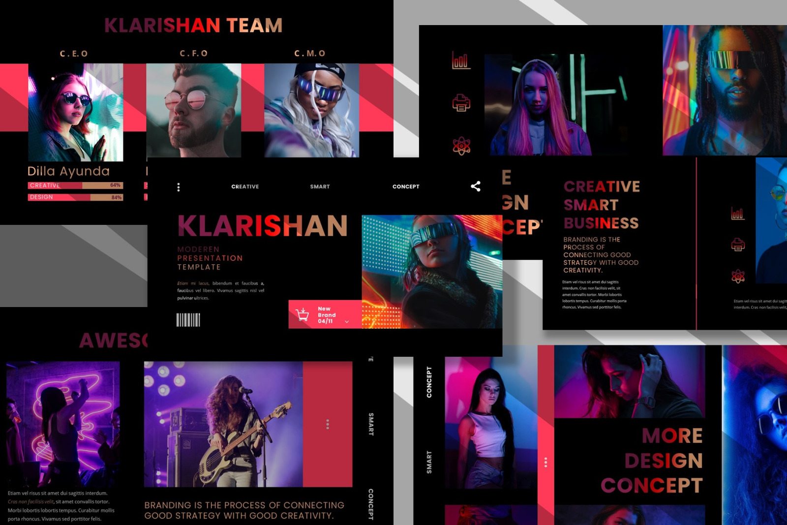 Klarishan - Creative Business Keynote Template