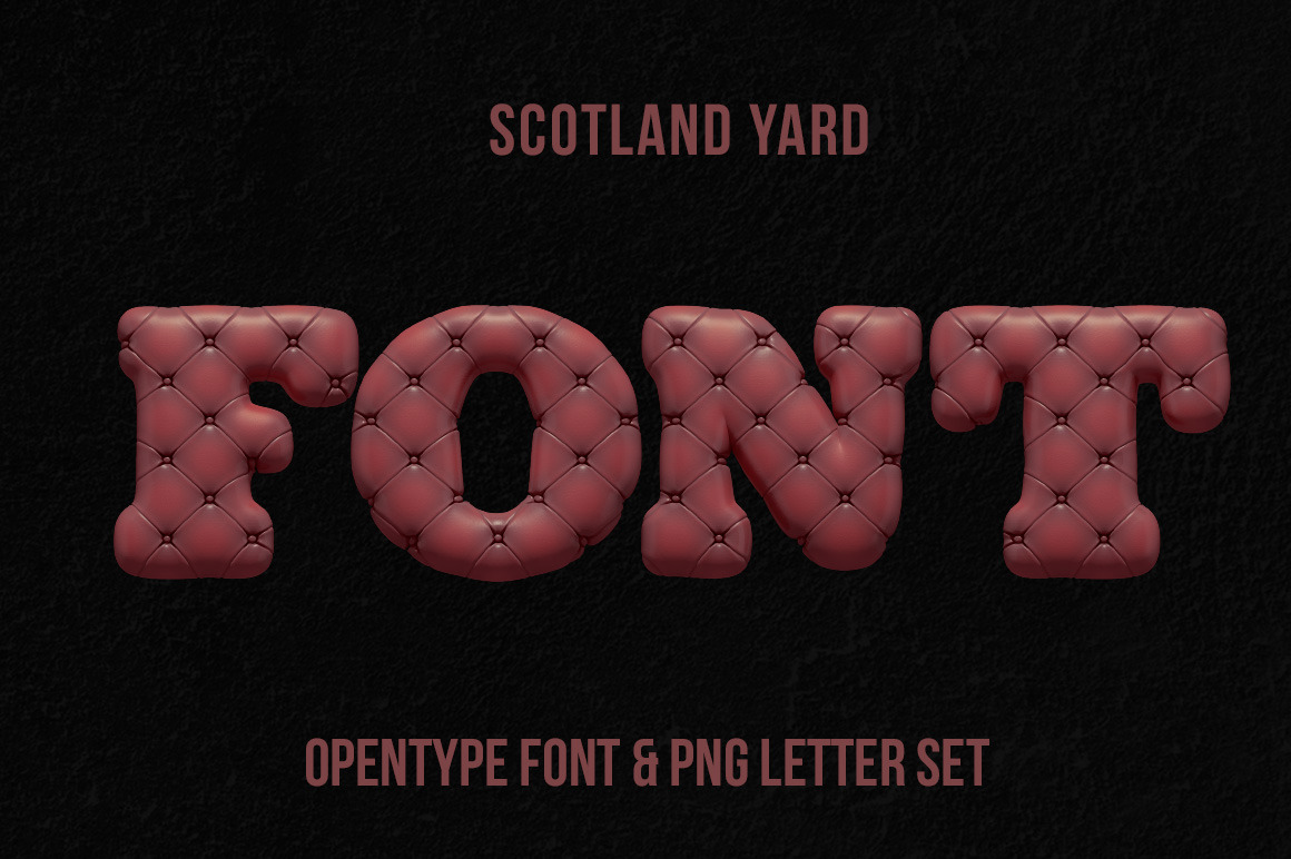 Scotland Yard Font