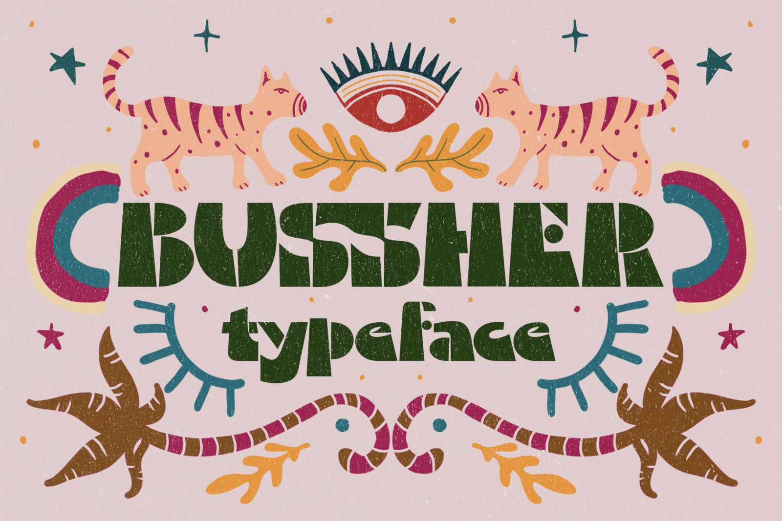 Bussher Typeface