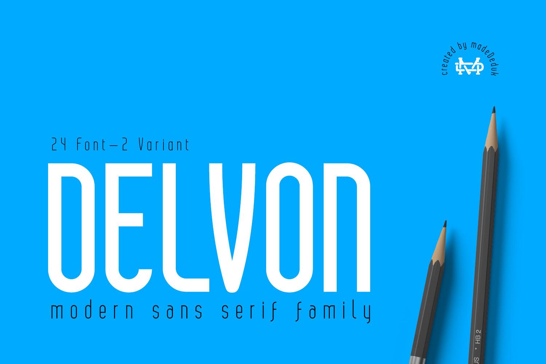 Delvon Sans Serif