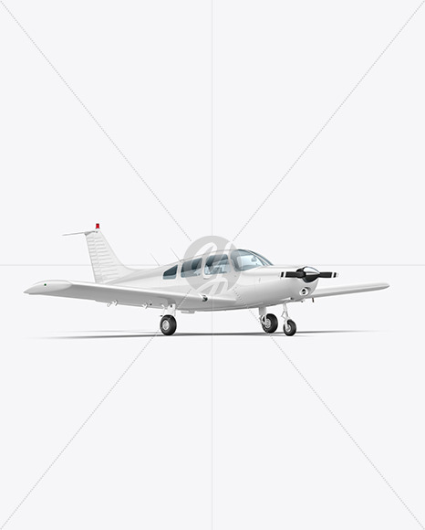 Aircraft - Half Side View - Yellowimages Mockups