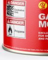 230g Gas Canister Mockup