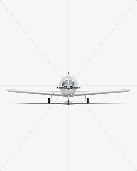 Aircraft - Front View - Yellowimages Mockups