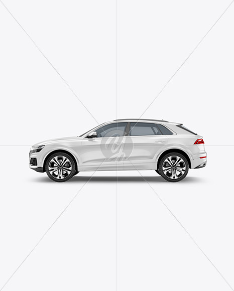 Crossover SUV - Side View
