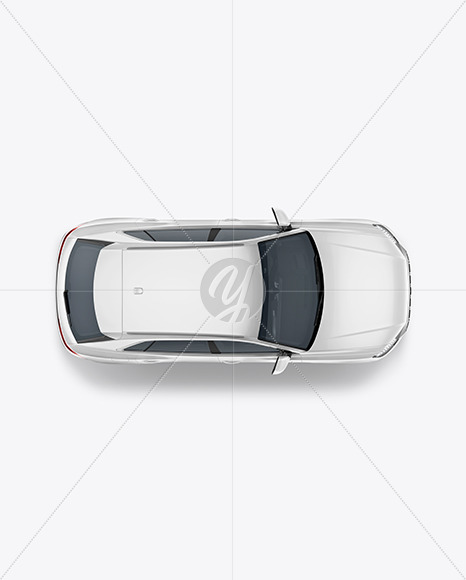 Crossover SUV - Top View - Yellowimages Mockups