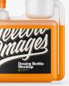 Matte Dosing Bottle Mockup - Front View