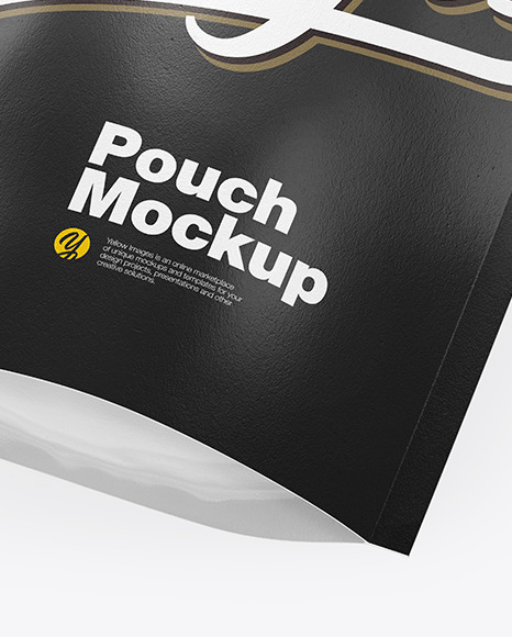 Textured Stand-Up Pouch Mockup
