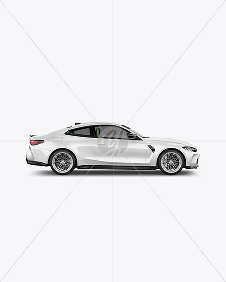 Compact Executive Car - Side View - Yellowimages Mockups