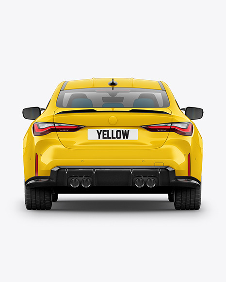 Compact Executive Car - Back View