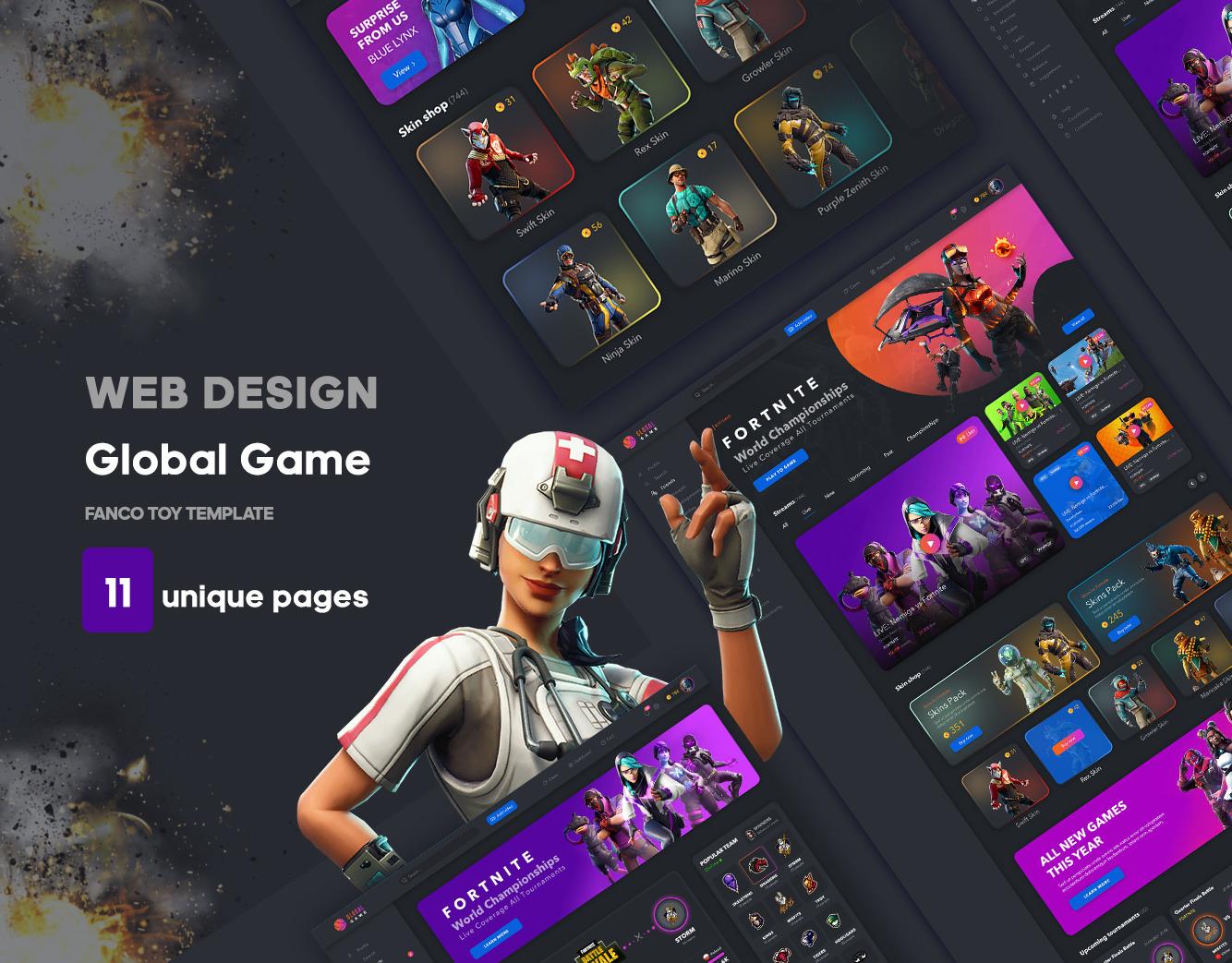 Game Global UI kit