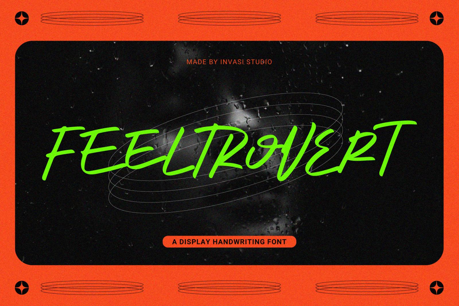 Feeltrovert - A Display Handwriting