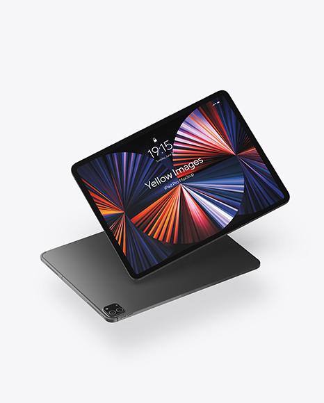 iPad Pro Space Gray Mockup