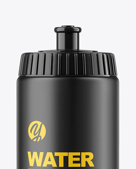 500ml Matte Sport Bottle Mockup