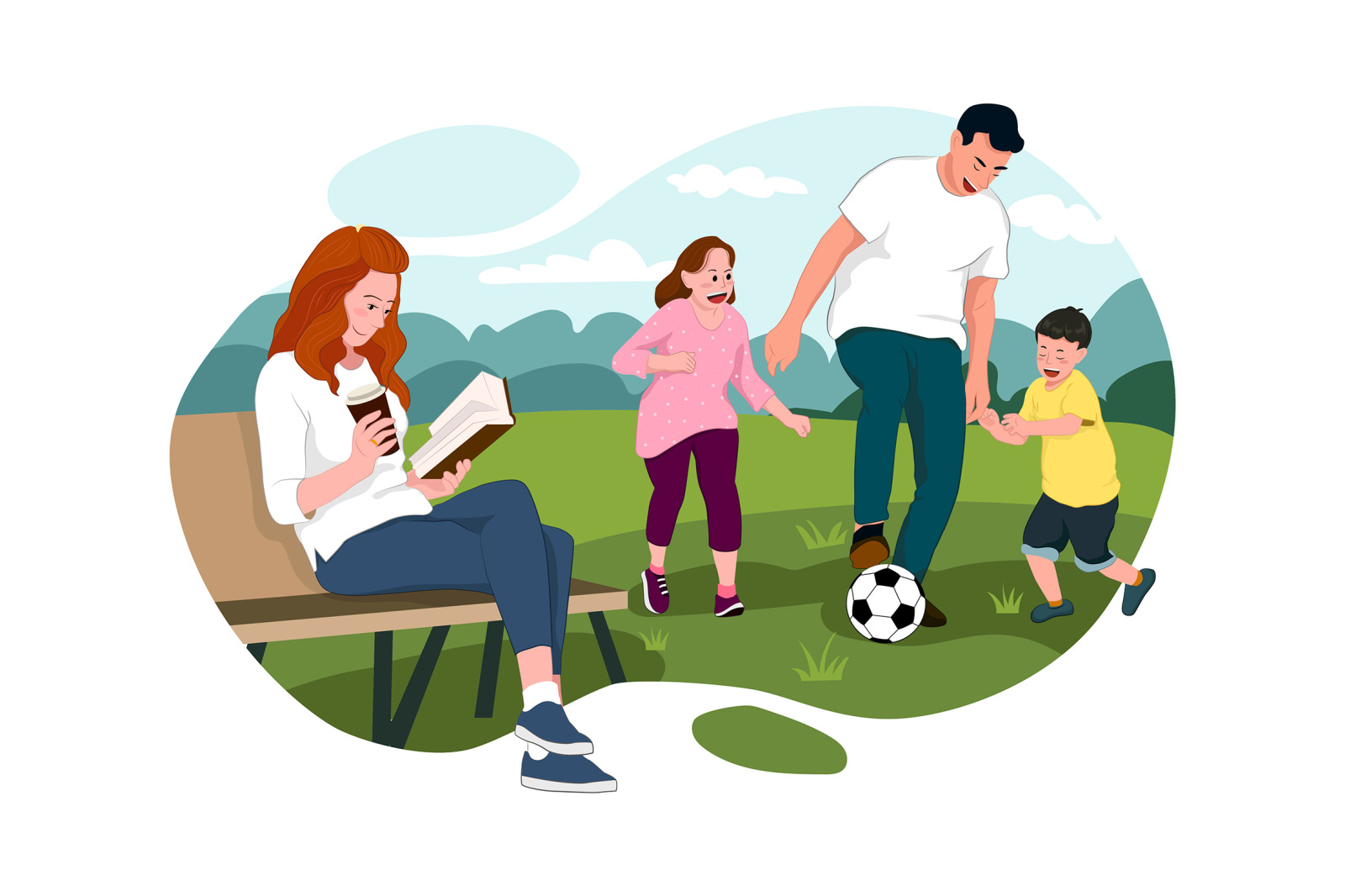 M231_ Outdoor Activities Illustrations