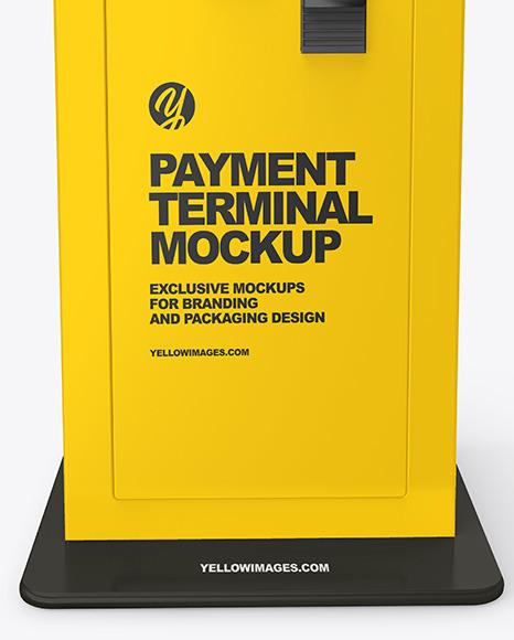 Payment Terminal Mockup
