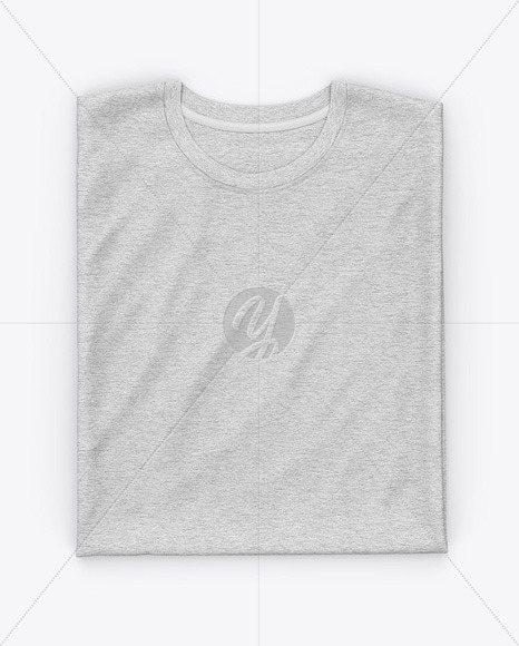 Heather Folded T-Shirt