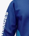 Hooded Windbreaker Jacket Mockup
