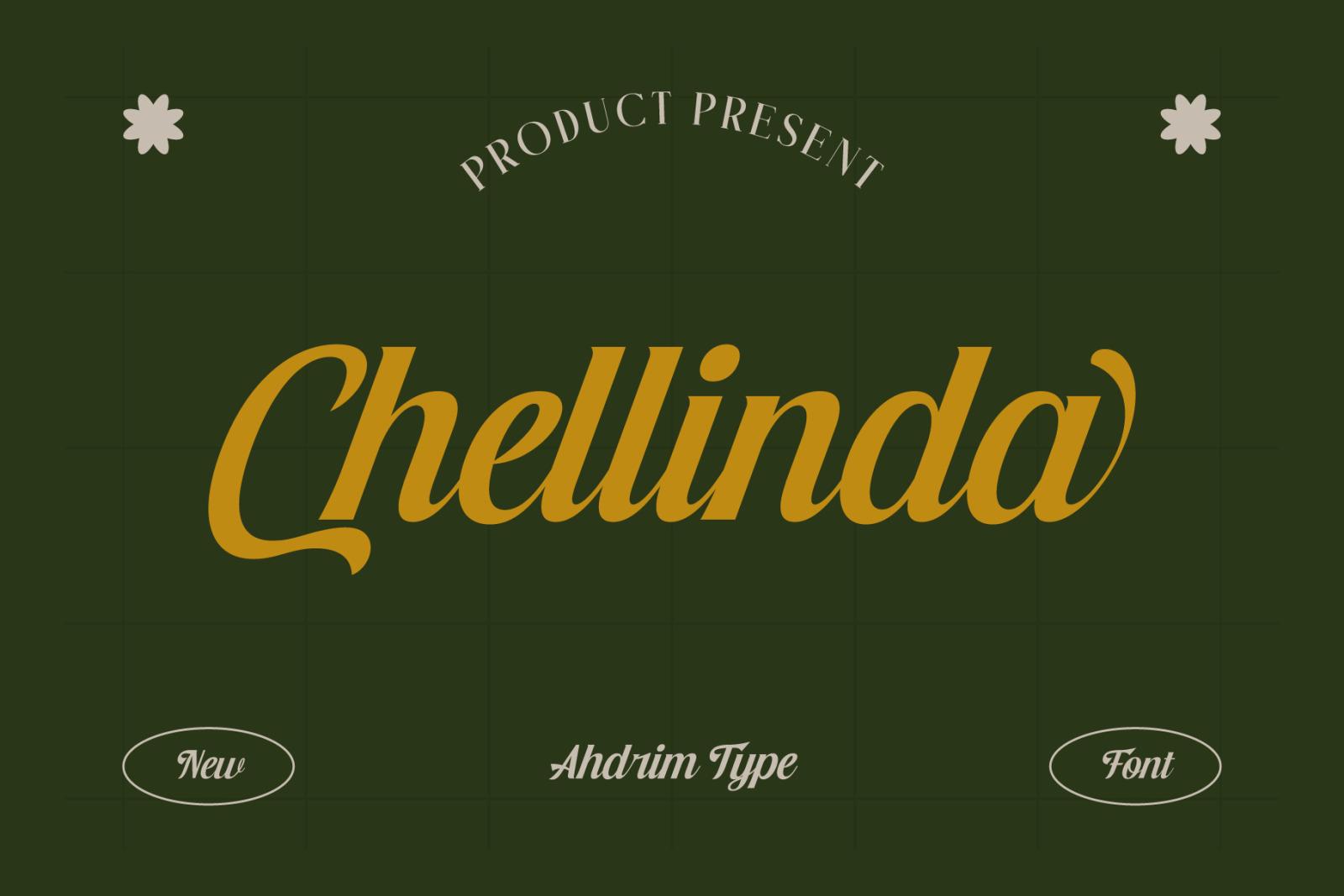 Chellinda Bold Script