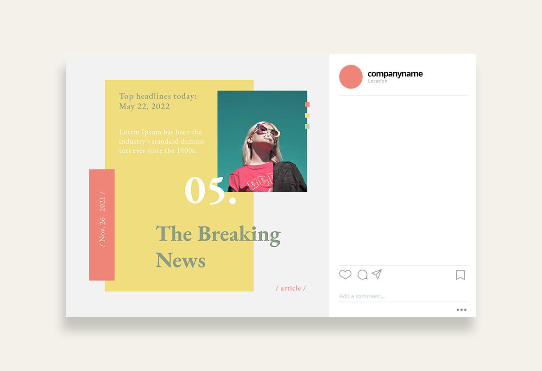 Modern Newsroom Instagram