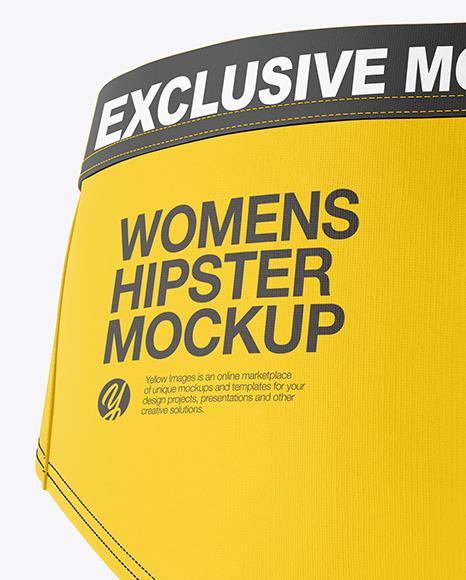 Woman's Panties Mockup