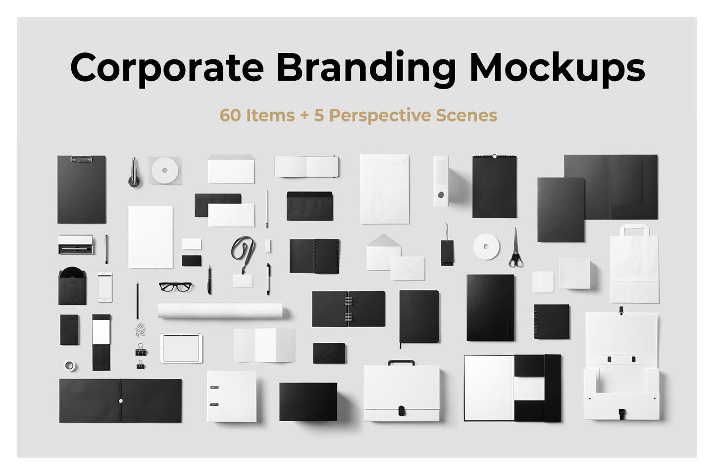 Corporate Branding Mockups
