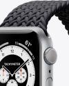 Apple Watch Series 6 with Aluminium Case Mockup