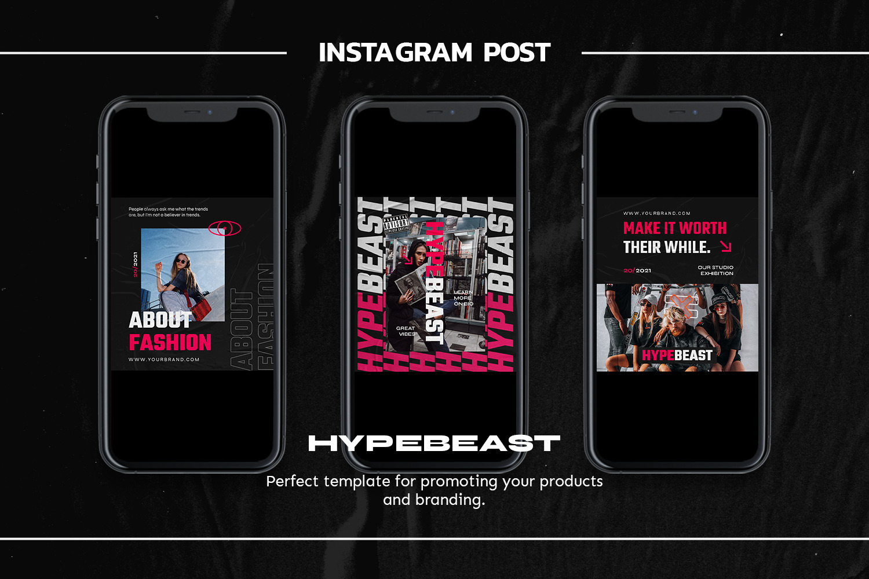 Frezi Instagram Template