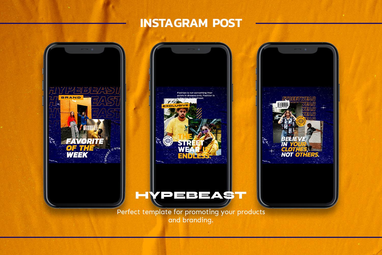 Releade Instagram Template