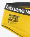 Women's Panties Mockup