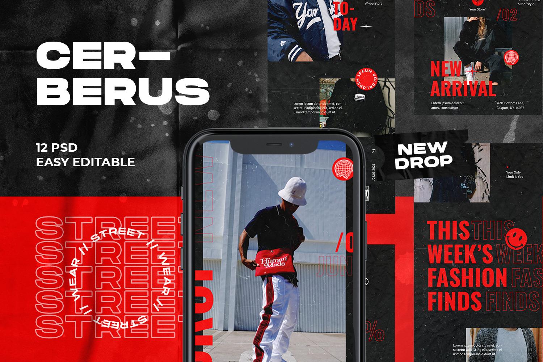 Cerberus Instagram Template