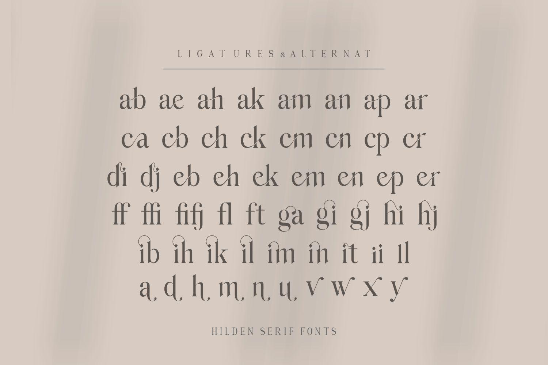 Hilden Font