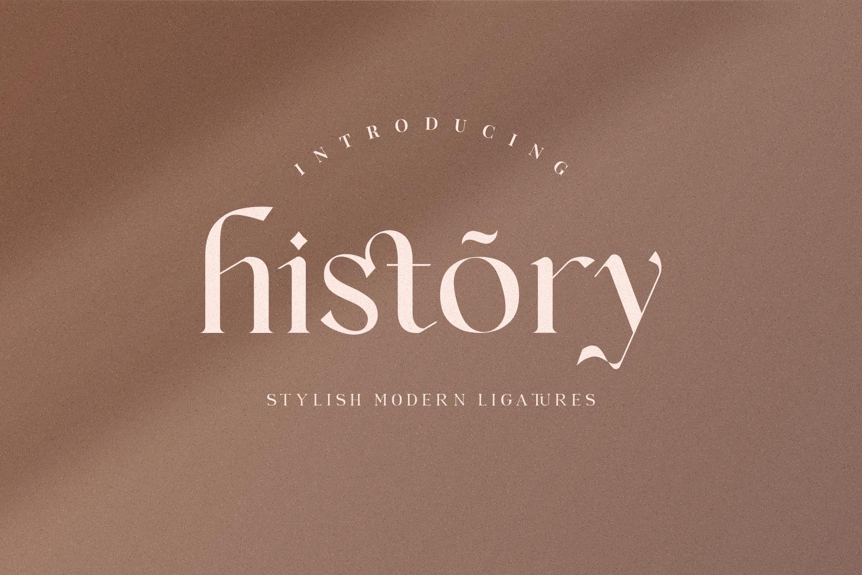 Vanger - modern serif font