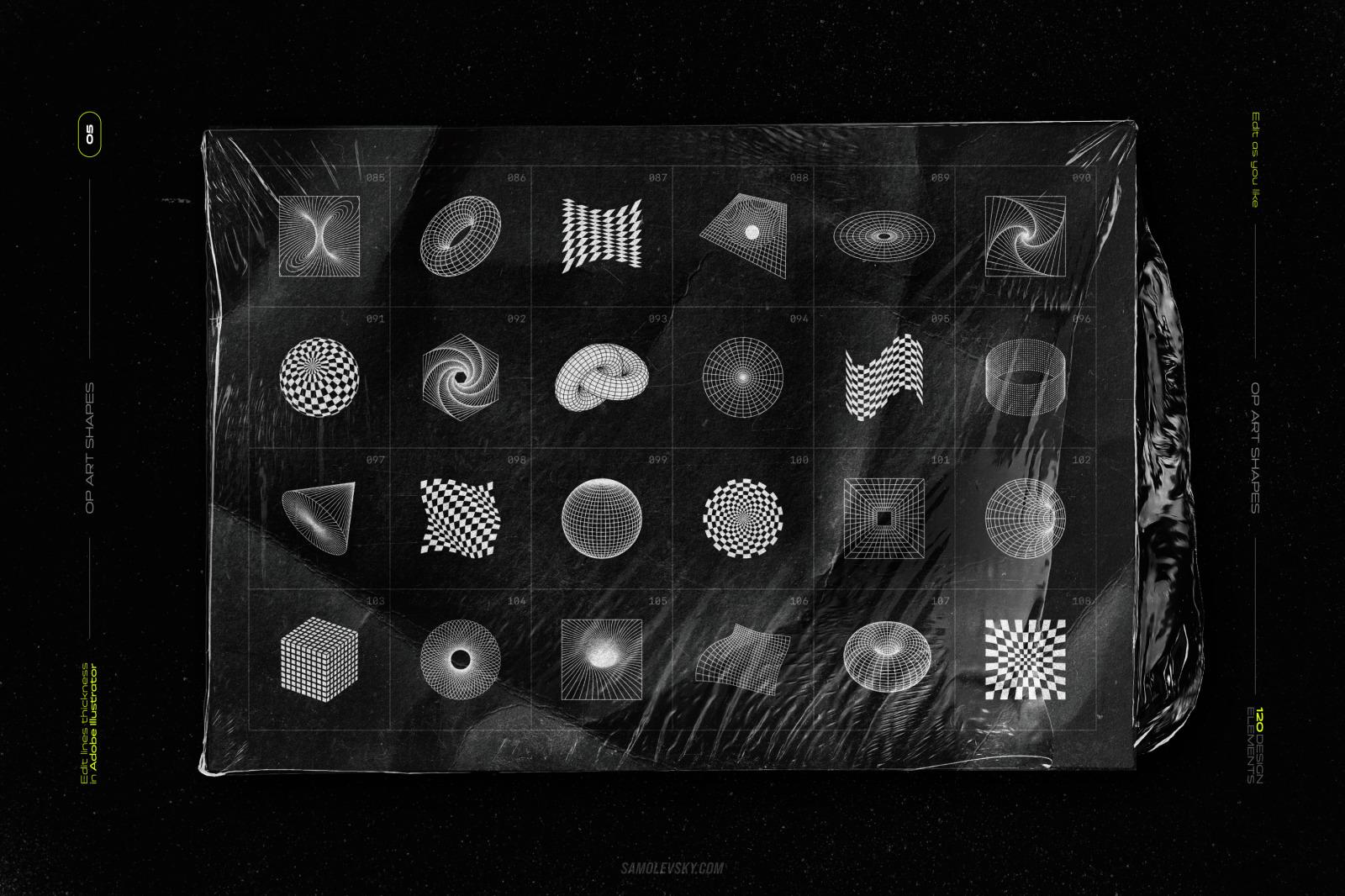 Abstract shapes MEGA PACK