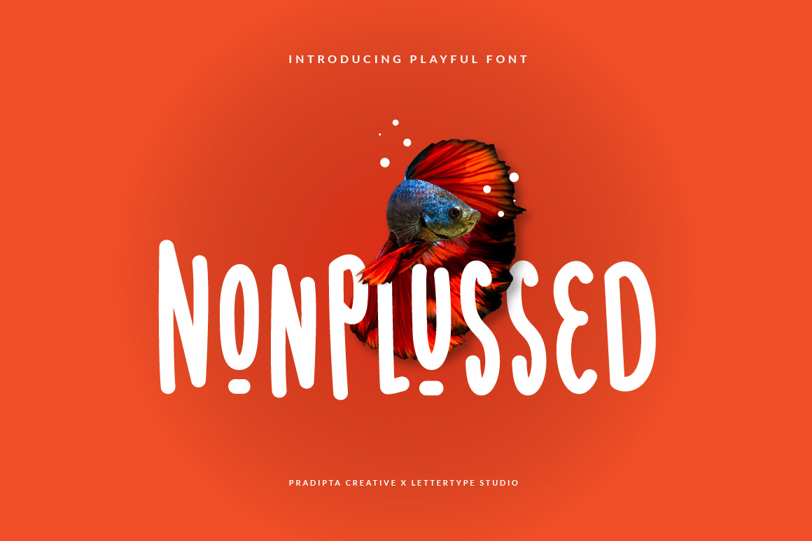 Nonplussed - Playful Font