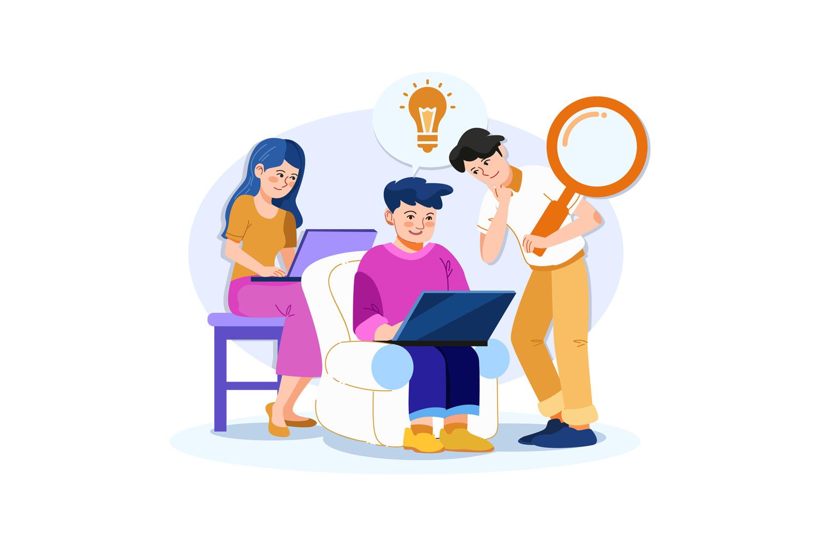 M257_ Digital Marketing Illustrations