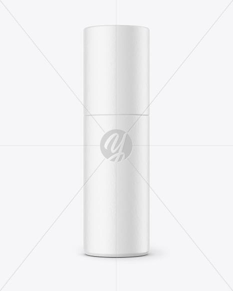 Paper Cosmetic Bottle Mockup