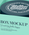 Cosmetic Jar In Box Mockup