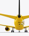 Aircraft Mockup - Back View