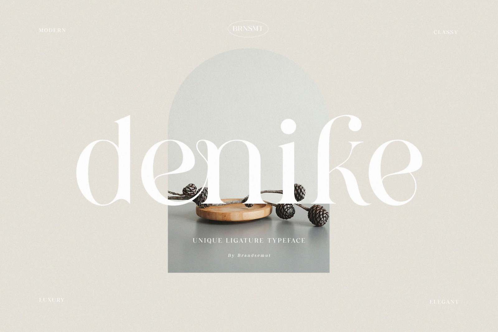 Denike - Stylish Modern Serif