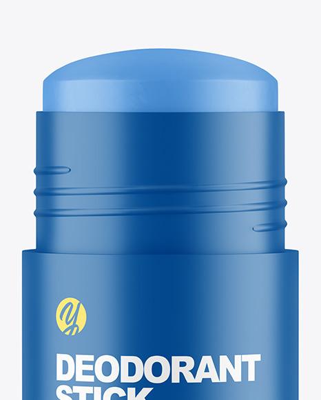 75g Matte Plastic Deodorant Stick Mockup